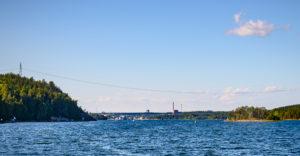 Inlopp Igelstaverket, Södertälje kanal